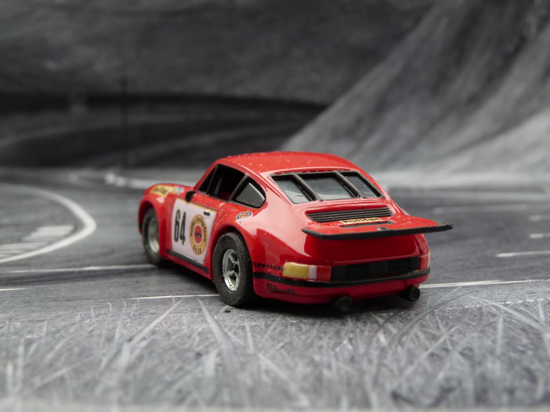 AURORA AFX Porsche 934 RSR GELO POLIFAC #64 LeMans 1974
