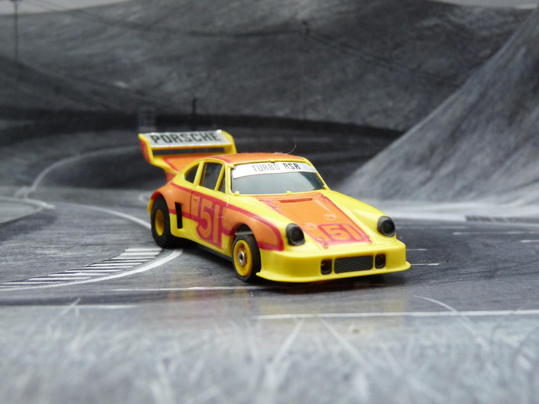 AURORA AFX Porsche 934 gelb/orange #51