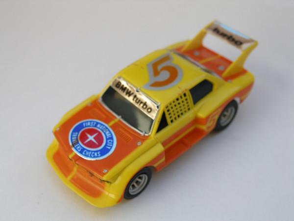 AURORA AFX BMW 320 Turbo gelb/orange #5