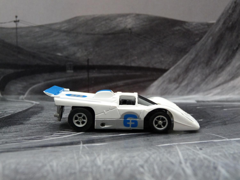 AURORA AFX Ferrari 512M weiß/blau/silber #6