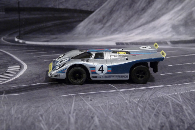 Porsche 917k Martini Racing Team #4, Daytona 24 Hours, 1971 - Practice -