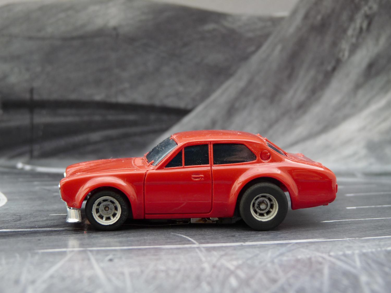 AURORA AFX Ford Escort rot
