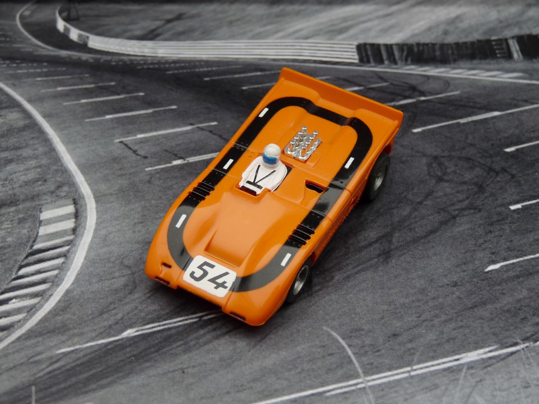 AURORA AFX Auto World McLaren XLR #54