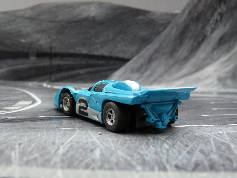 AURORA AFX Ferrari 512M blau/weiß/silber #2