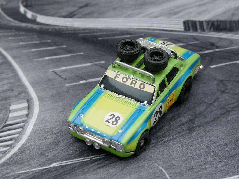 AURORA AFX Ford Escort Rallye