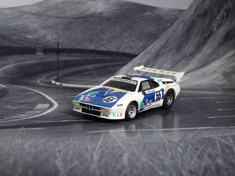 BMW M1 Cassani Racing H.I.S. #55, Monaco 1980