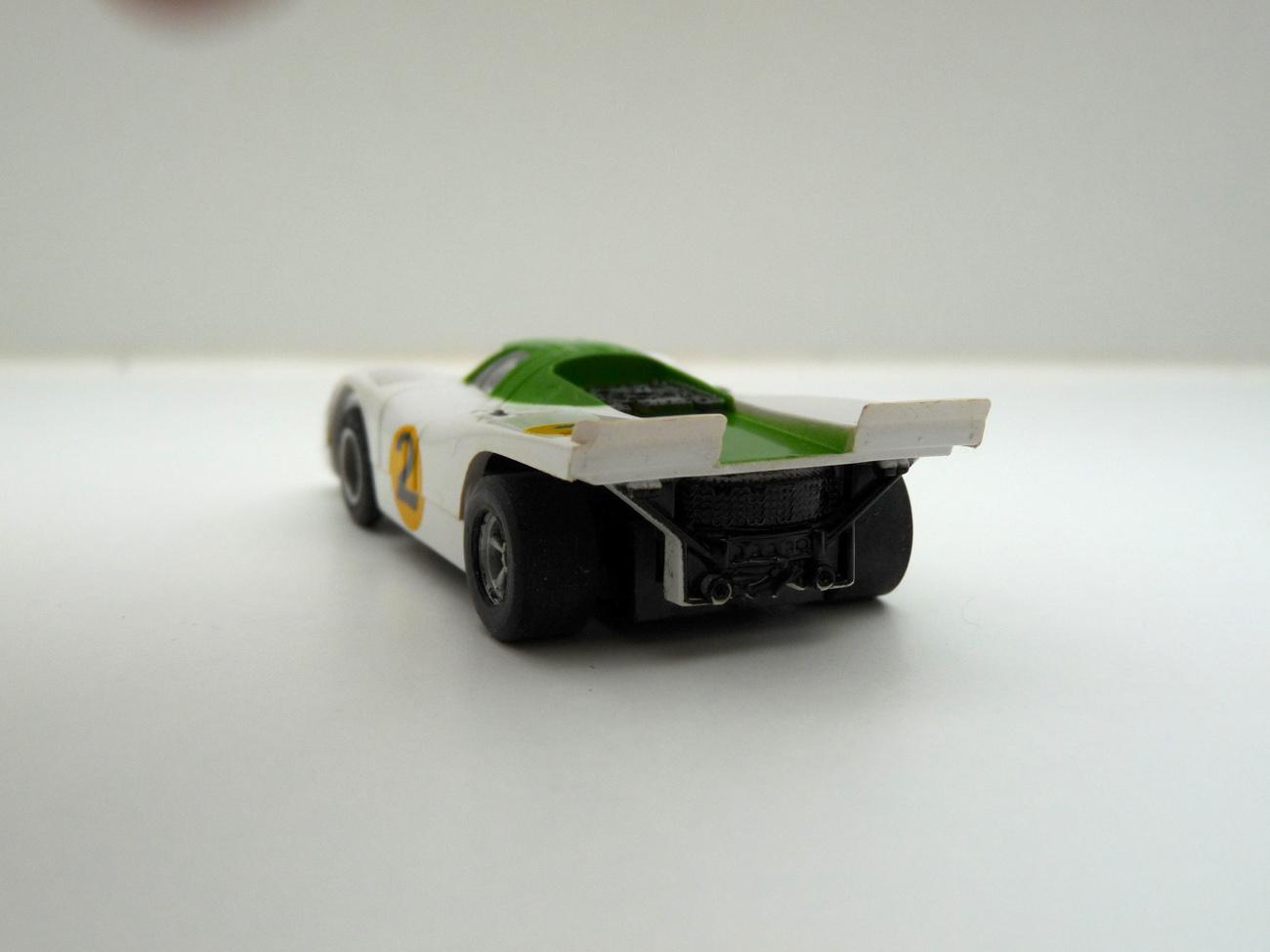 AURORA ARX Porsche 917k weiß/grün #2 klare Scheibe - offene Haube