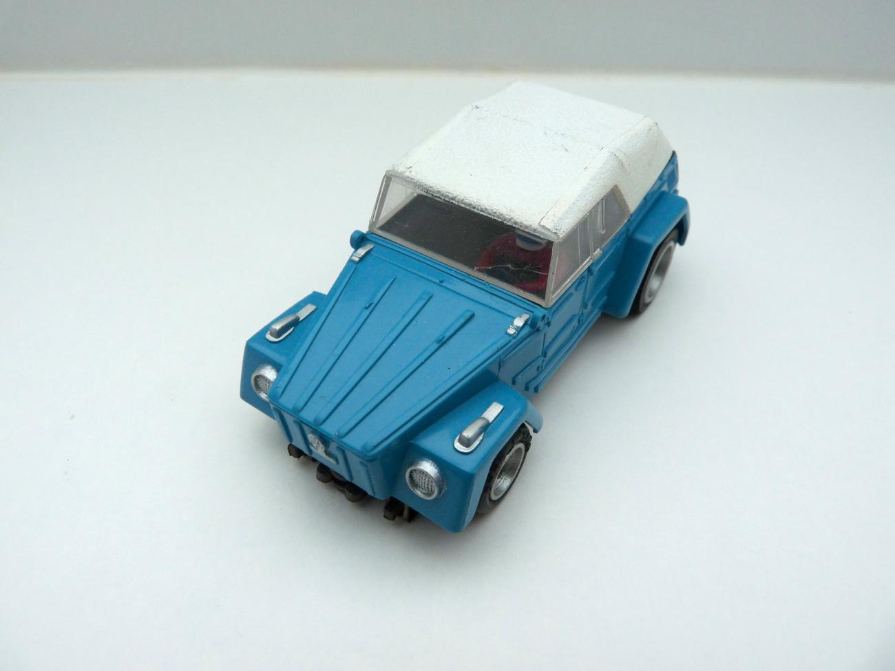 AURORA AFX VW Thing / Kübel hellblau -weißes Dach #1936