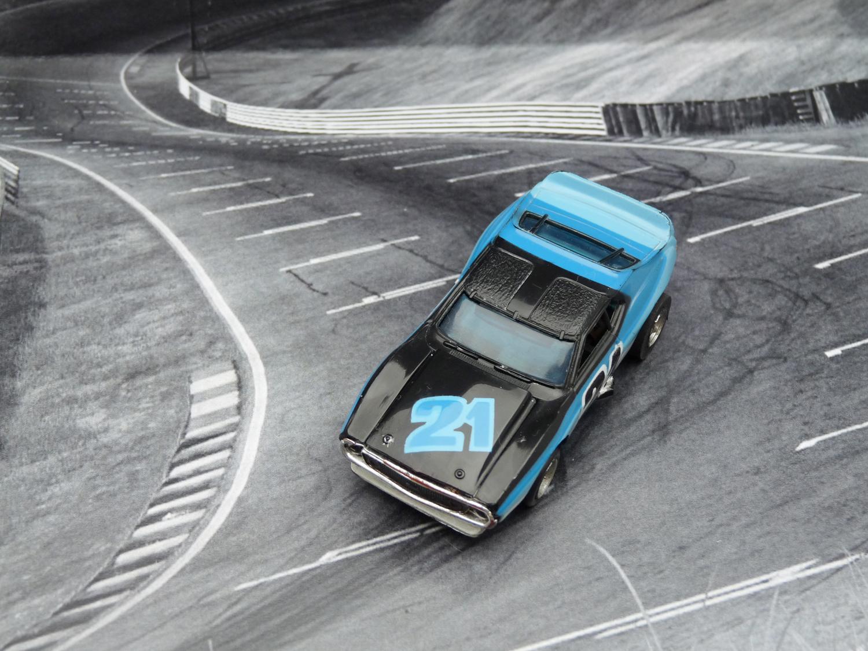 AURORA AFX Javelin Trans AM schwarz/blau/hellblau #21