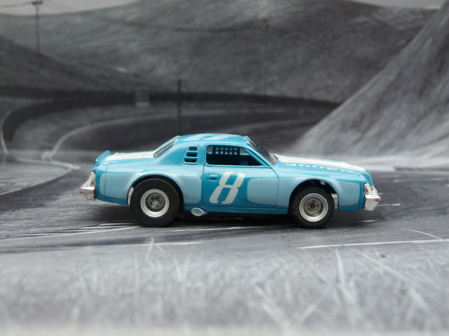 AURORA AFX Dodge Magnum Stock Car