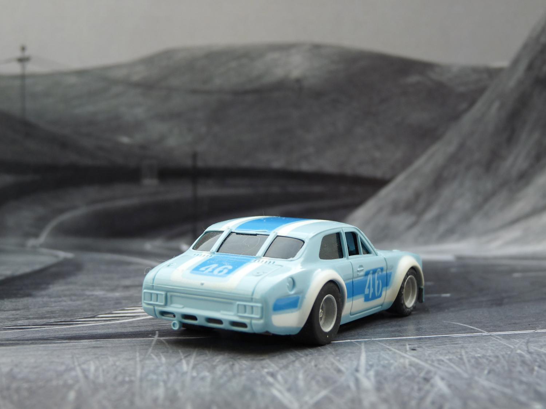 AURORA AFX Ford Escort hellblau / dunkelblau / weiß #46