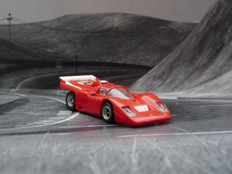 AURORA AFX Ferrari 512M rot/weiß #2