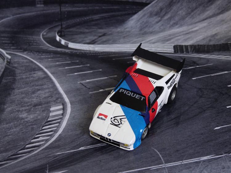 BMW M1 ProCar Piquet #6 , Silverstone 1979
