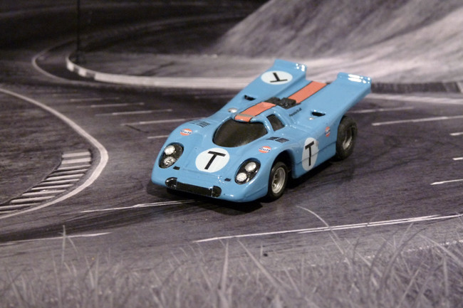 Porsche 917k TEAM GULF JOHN WYER AUTOMOTIVE Training Car - Sebring 1970
