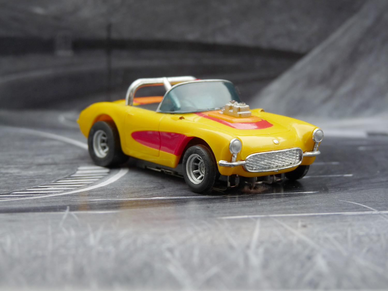 AURORA AFX Corvette Convertibel