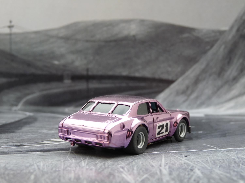 AURORA AFX Ford Escort chrome purple #21