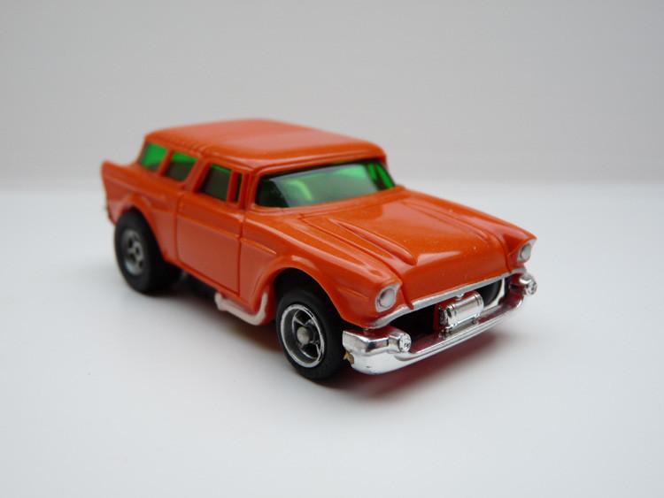 AURORA AFX '57 Chevy Nomad orange/weiße side pipes