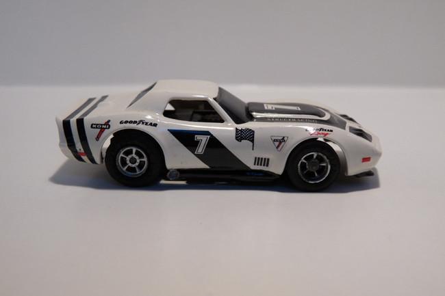 """AURORA AFX Corvette """"A"""" Produktion PanAm #7"""