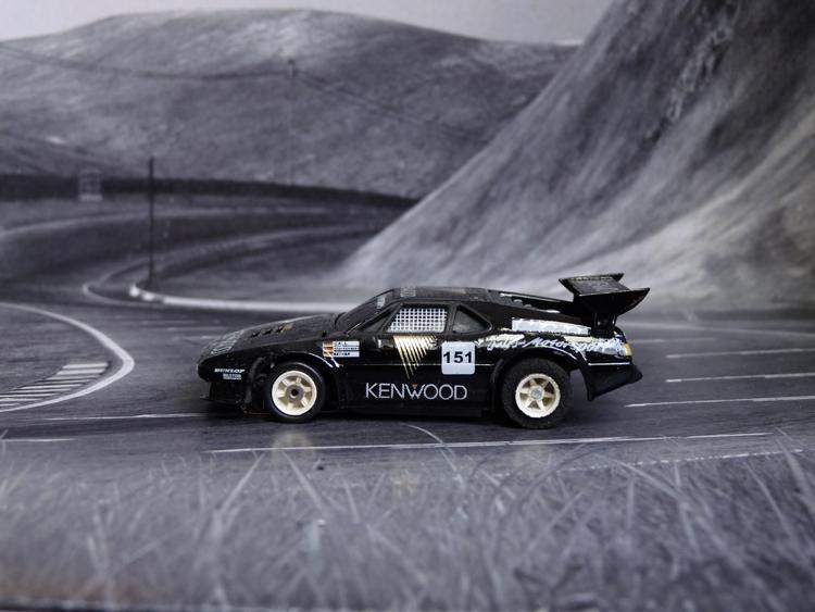 BMW M1 ProCar Team MK-Motorsport #151, Nürburgring 1986
