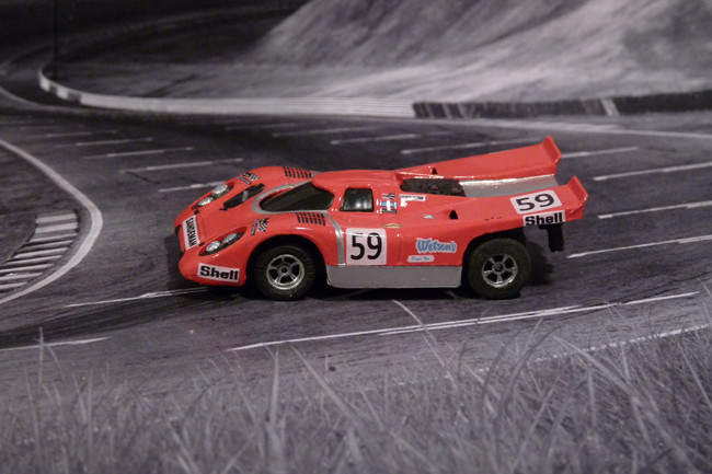 Porsche 917k Team Sandeman #59 - Magny Cours 1970