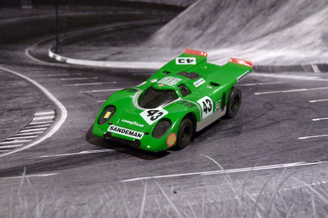 Porsche 917k Team David Piper Sandemann # 43, Watkins Glen 6 Hours - 1971