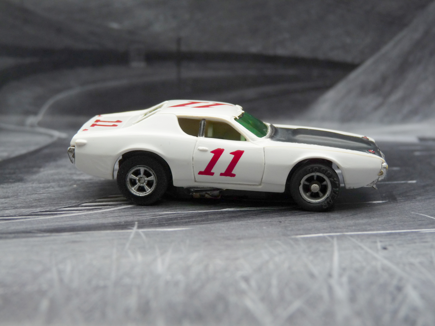 AURORA AFX Dodge Charger Stock Car