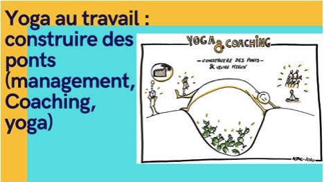 Conférence-atelier : yoga au bureau c'est possible !