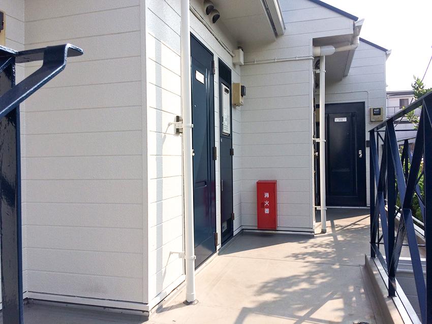 西千葉のアパート外壁塗装