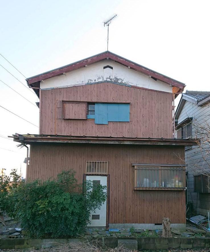 千葉市中央区の屋根外壁補修 外壁塗装前