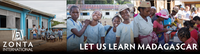 Let us Learn Madagascar, Zonta International