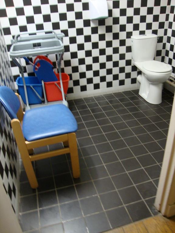 MAIRIE DE VERSAILLES - WC handicapés qui sert aussi de débarras