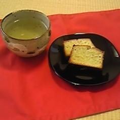 新茶のパウンドケーキ
