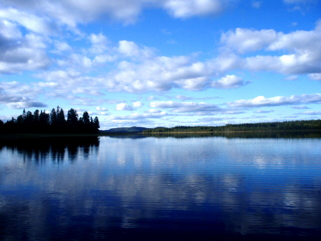Sommar in Lappland