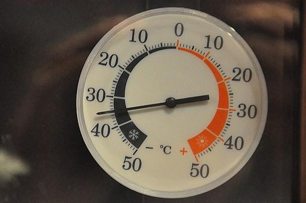 Knackige Temperaturen bei uns in Lappland
