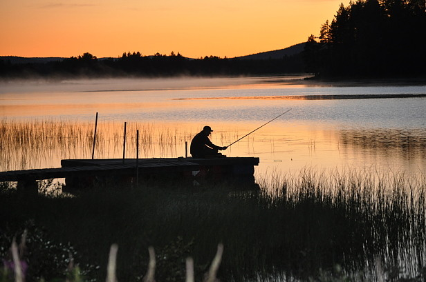 Faszination Lappland Angeln