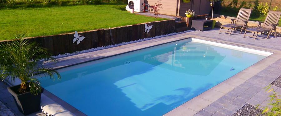 Tahiti polyester zwembad mattimmo for Zwembad thuis prijzen