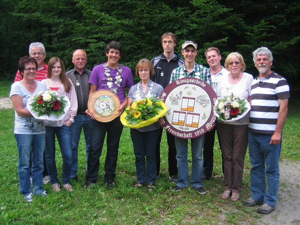 Unsere Königsfamilie 2012