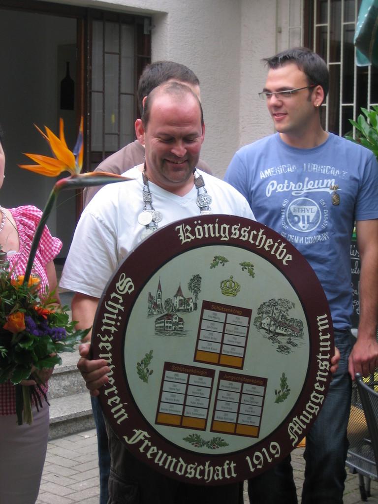 Schützenkönig 2013 Heiko Zittel