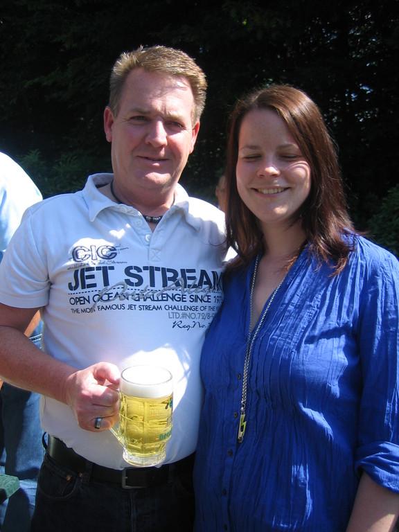 Das Königspaar aus 2011 Joachim und Santina
