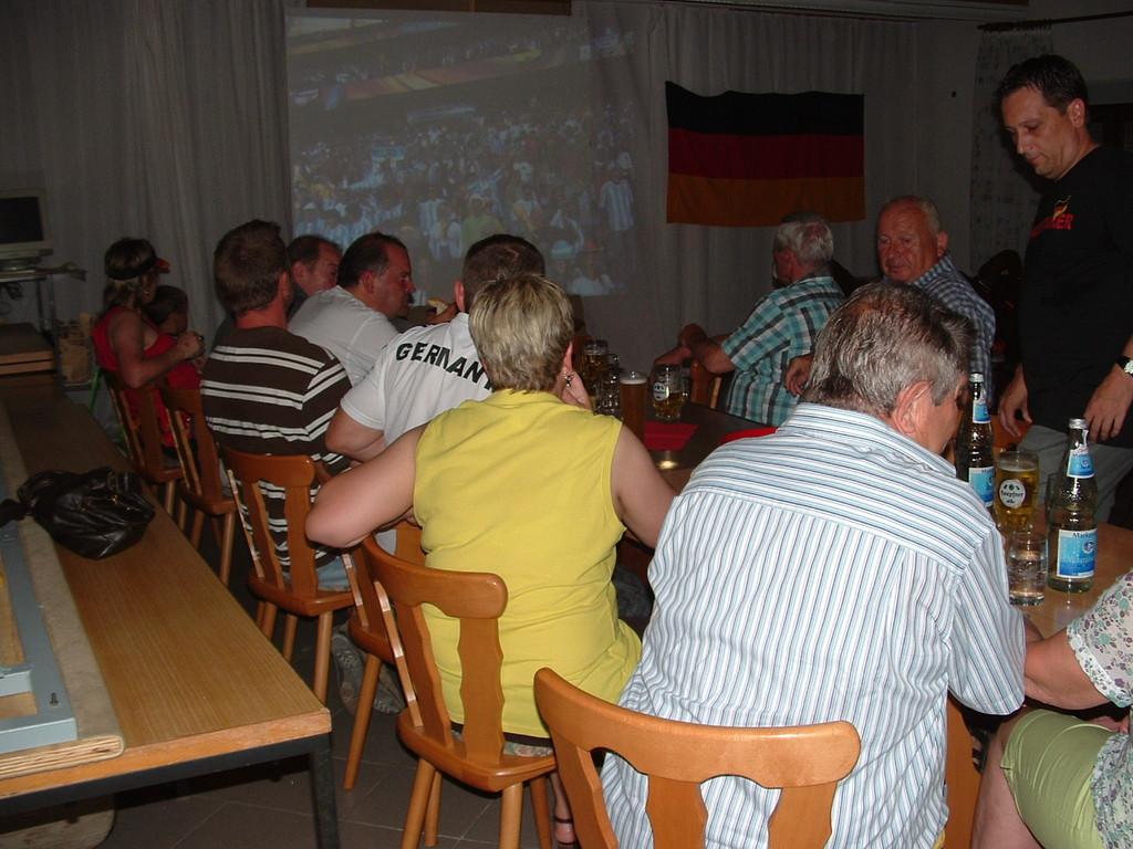 Liveübertragung der Fussball-WM