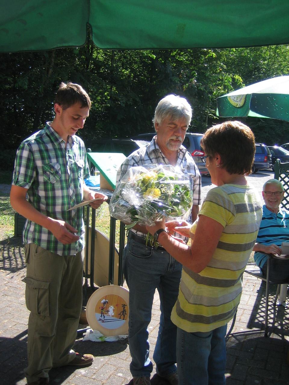 Proklamation der Königsfamilie 2014 - 1. Schützenliesel Brigitte Schmidt
