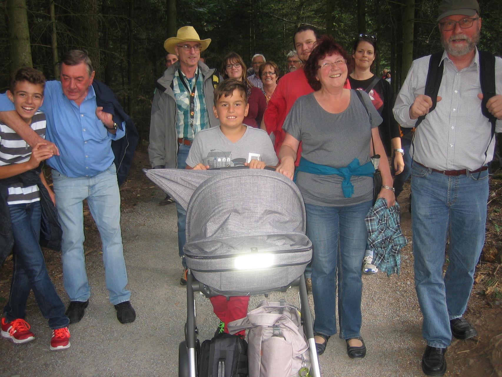 Kleiner Spaziergang zurück zur Bergbahn