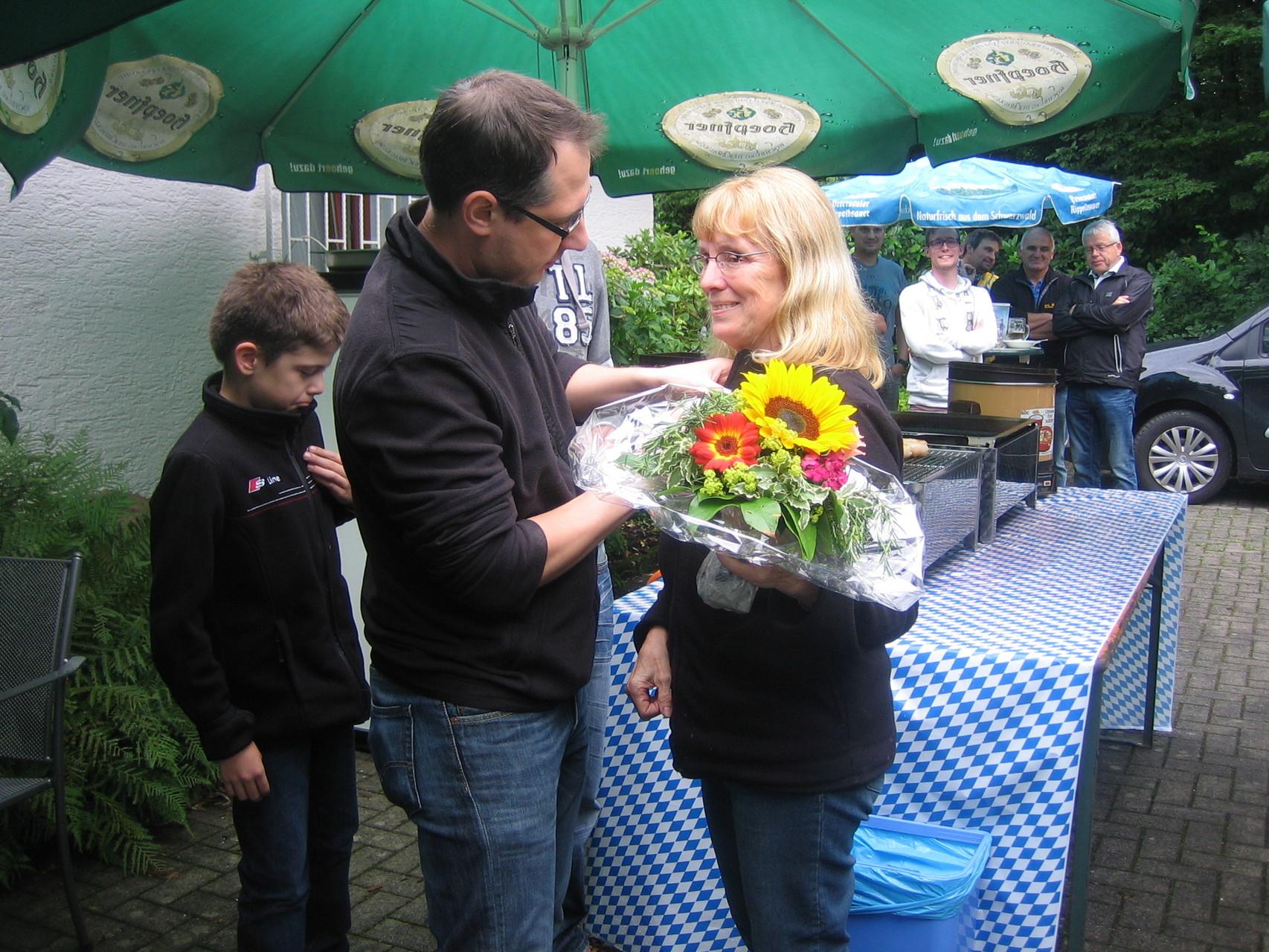 Proklamation der Königsfamilie: 2. Schützenliesel Doris Schmiederer