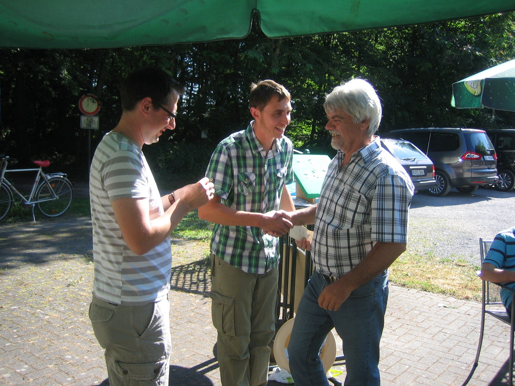 Proklamation der Königsfamilie 2014 - 2. Ritter Joachim Kuhn