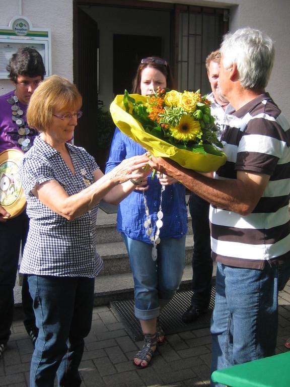 Schützenkönigin 2012 Doris Schmiederer
