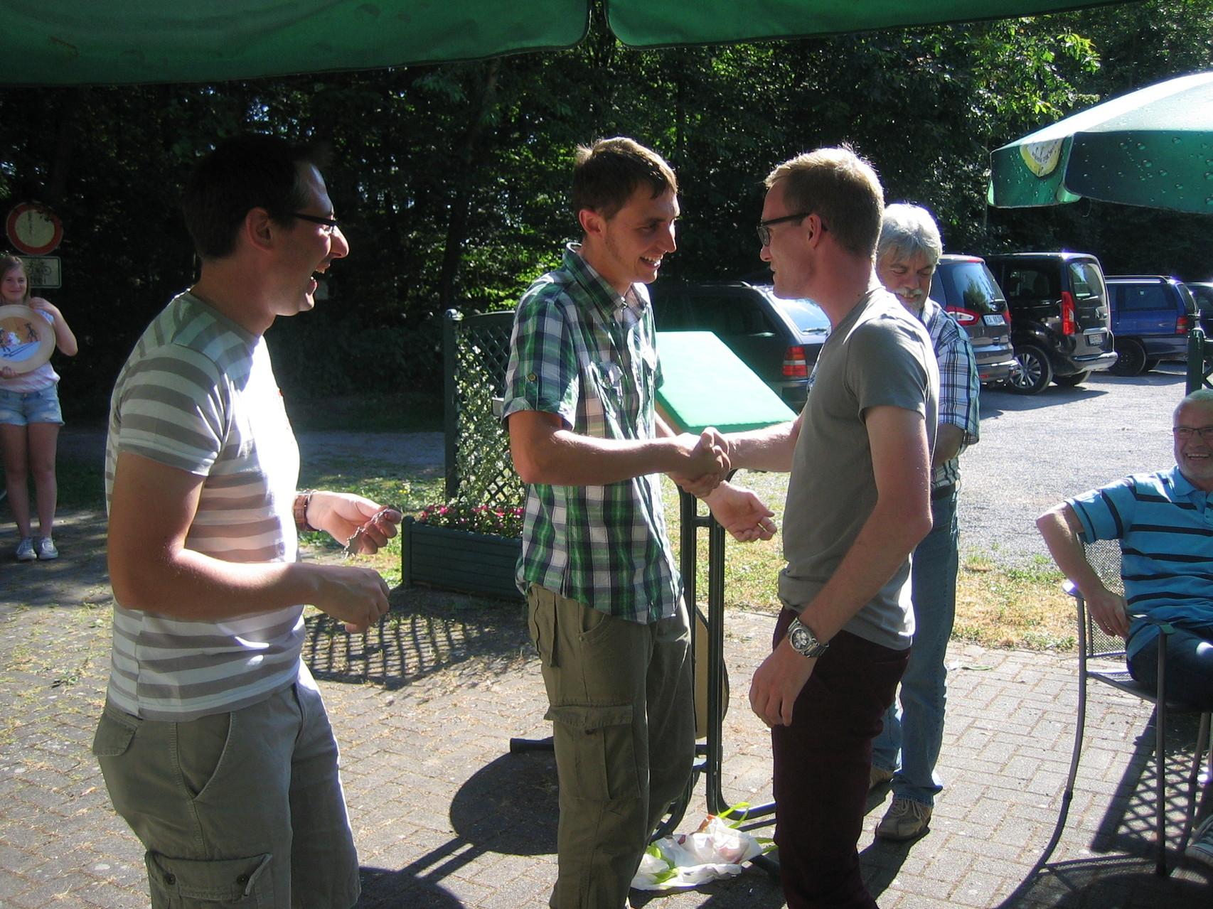 Proklamation der Königsfamilie 2014 - Schützenkönig Manuel Hettel