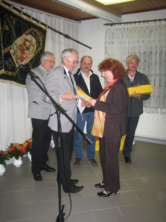 Ehrung langjähriger Vereinsmitglieder