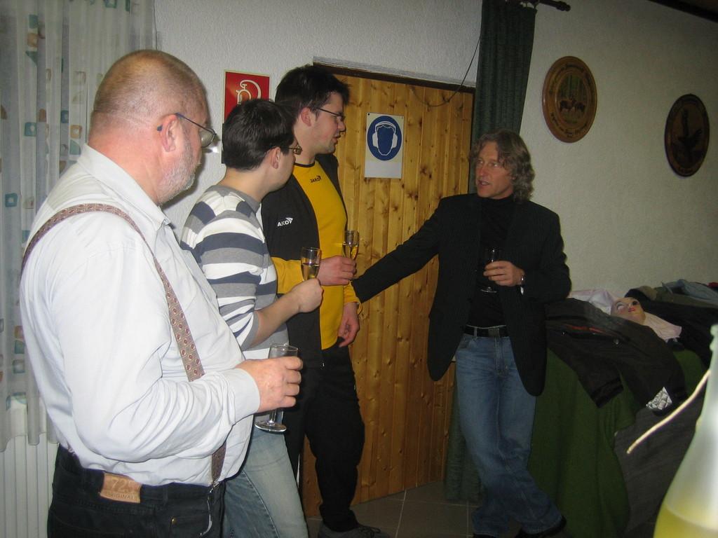 ... auch unser Mentaltrainer Axel Hansert-Berger war dabei