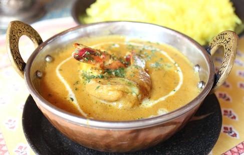 エビカレー(shrimp curry)