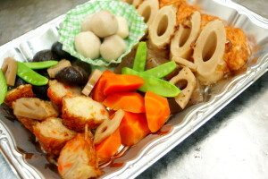 通夜料理 (煮物)